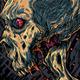 Mohawk Skull - GraphicRiver Item for Sale