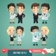 Doctors Cartoon Characters Set 1.2 - GraphicRiver Item for Sale