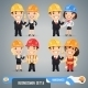 Businessmen Cartoon Characters Set 1.5 - GraphicRiver Item for Sale