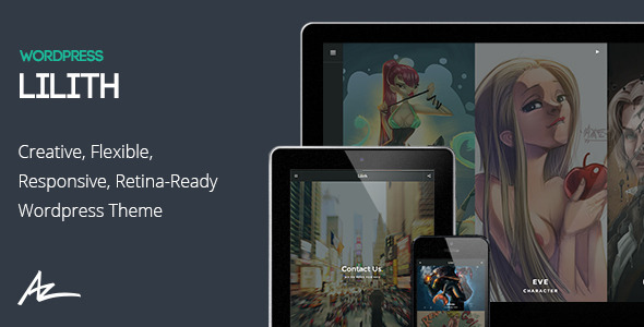 Lilith – Creative & Shop WordPress Theme
