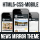 Mobile News Mirror Template Nulled