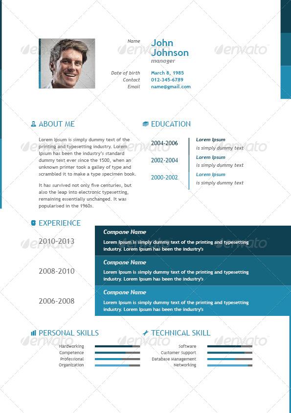 business resume by ruliz gi