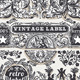 Vintage Hand Drawn Graphic Banners and Labels - GraphicRiver Item for Sale