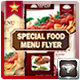 Special Food Menu Flyer  - GraphicRiver Item for Sale
