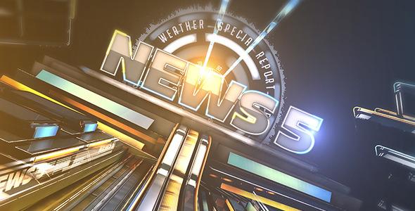 Videohive Broadcast News 5 7598435 - Free