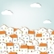 Panorama Town - GraphicRiver Item for Sale
