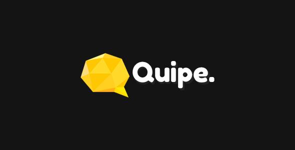 Quipe – Responsive Portfolio Template