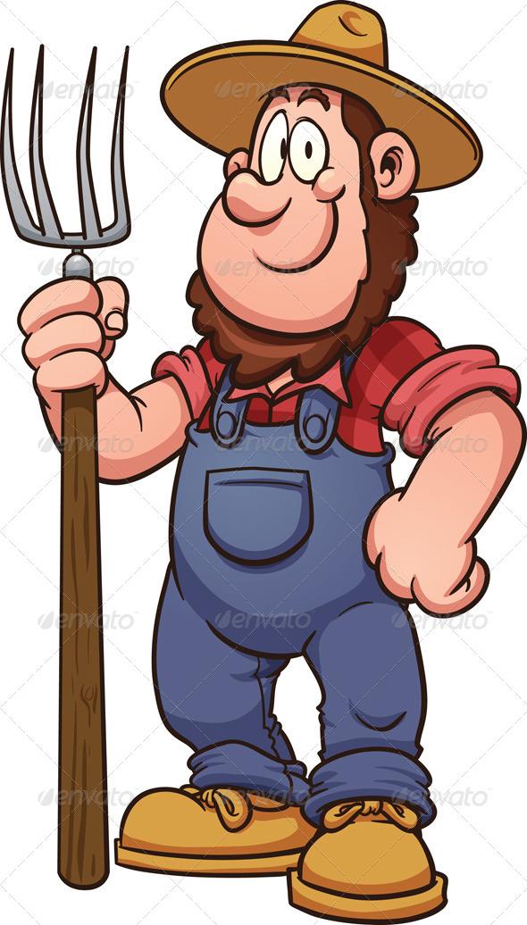 Image result for cartoon farmer