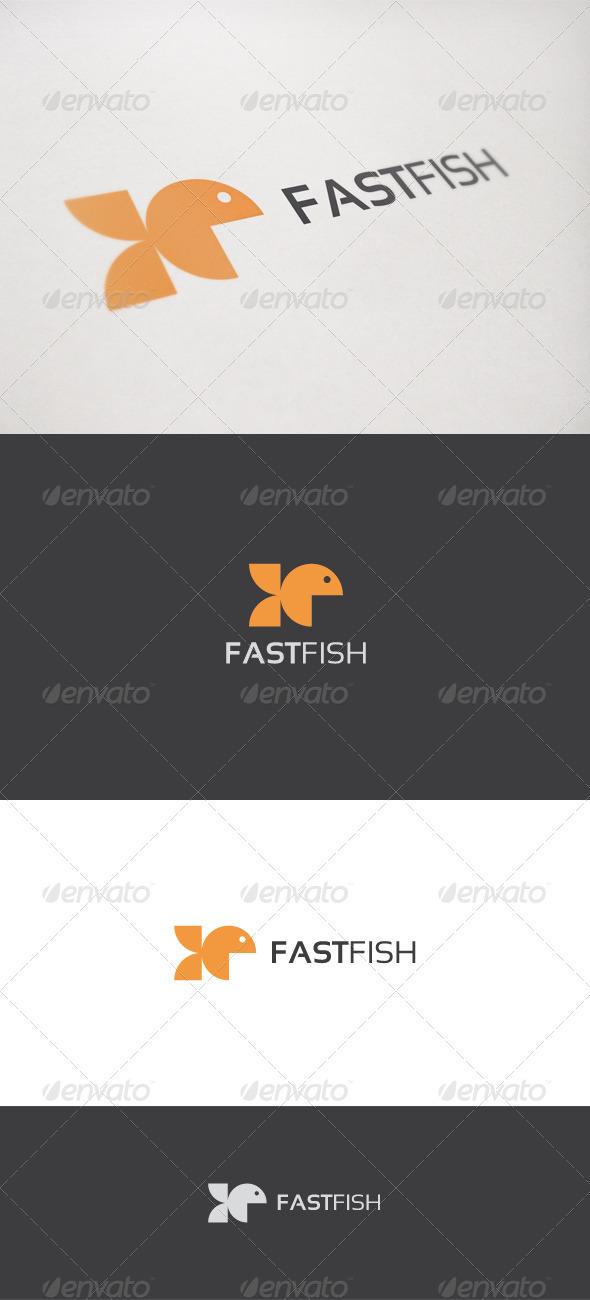 Fast Fish - Animals Logo Templates