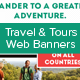 Travel & Tours Web Banners - GraphicRiver Item for Sale