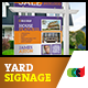 Printable Modern Real Estate Yard Signage Template 10 + Riders - GraphicRiver Item for Sale
