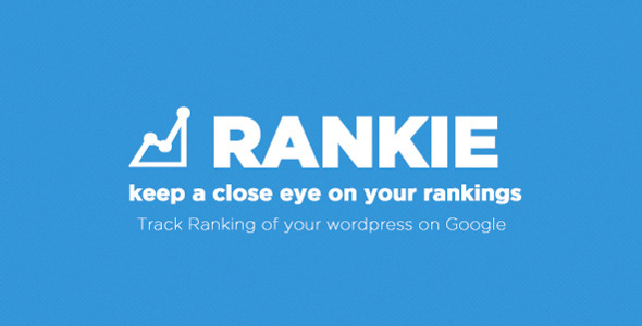 Rankie - Wordpress Rank Tracker Plugin - CodeCanyon Item for Sale