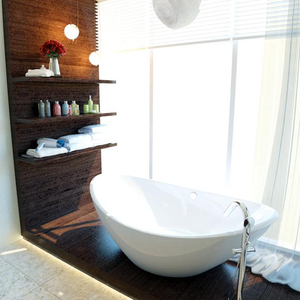 master bathroom - 3DOcean Item for Sale