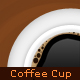 Coffee Cup on Plate - GraphicRiver Item for Sale