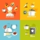 Cooking Icons Flat - GraphicRiver Item for Sale