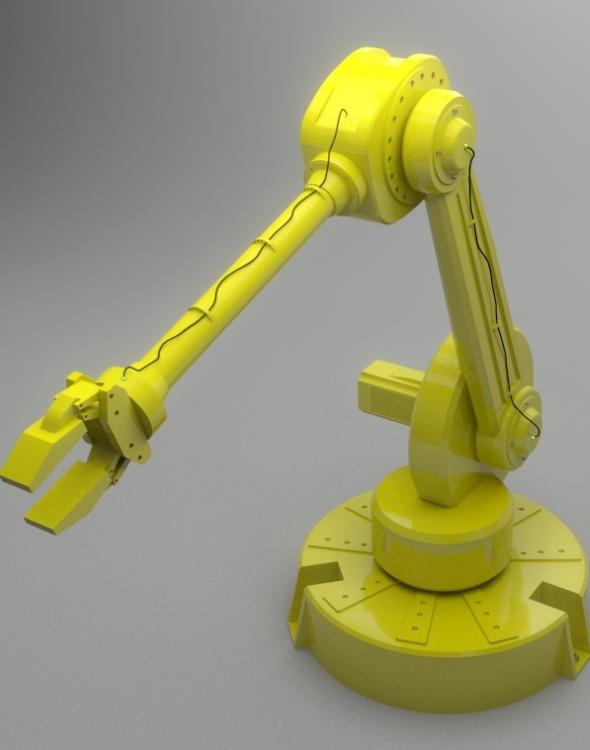 Industrial Robot - 3DOcean Item for Sale