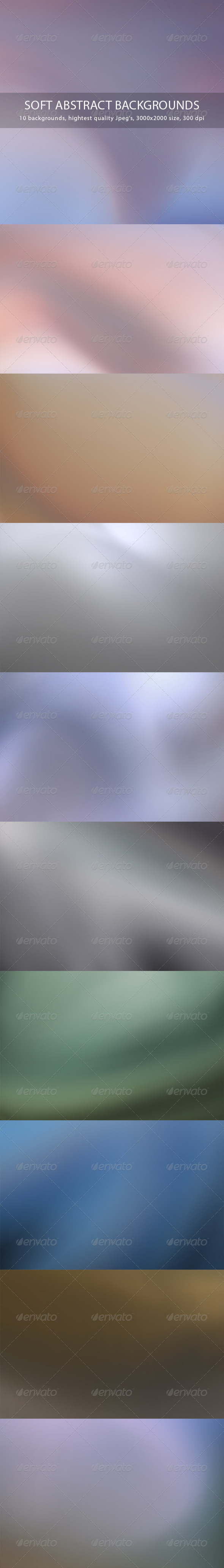 Soft Abstract Backgrounds - Abstract Backgrounds