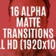 16 Alpha Transitions - VideoHive Item for Sale