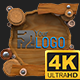 Wooden Logo 4K (Mograph) - VideoHive Item for Sale