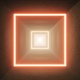Glow Square Light Desert Tunnel - VideoHive Item for Sale