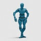 Bot Man with Dancing Hiphop 02 - VideoHive Item for Sale