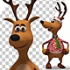 Christmas Santa Deer - Gangnam Style Dance (2-Pack) - VideoHive Item for Sale
