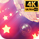 Stars And Disco Balls 4k - VideoHive Item for Sale