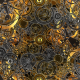 Golden Cogs Loops - VideoHive Item for Sale