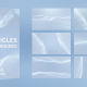Soft And Clean Particles Backgrounds Pack - VideoHive Item for Sale