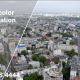 Aerial View of Landscape in Kyiv City - VideoHive Item for Sale