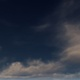 Gray Thunderclouds In The Dark Blue Sky - VideoHive Item for Sale