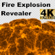 Huge Fire Explosion Revealer with Alpha (4K) - VideoHive Item for Sale