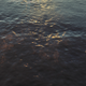Blue Waves At Sunset In The Ocean - VideoHive Item for Sale