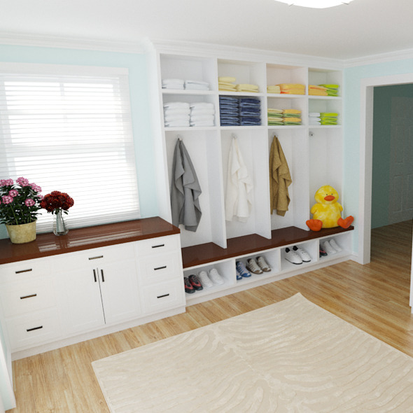 mud room - 3DOcean Item for Sale