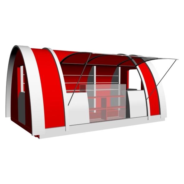 Desighn Kiosk 2 - 3DOcean Item for Sale
