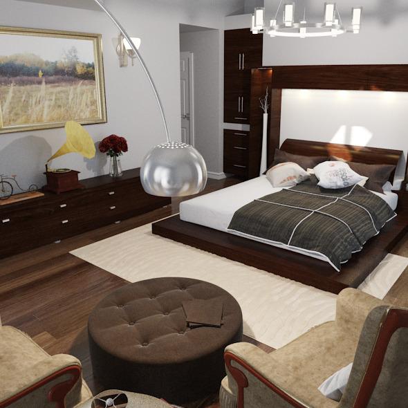 Decorate Master Bedoom - 3DOcean Item for Sale