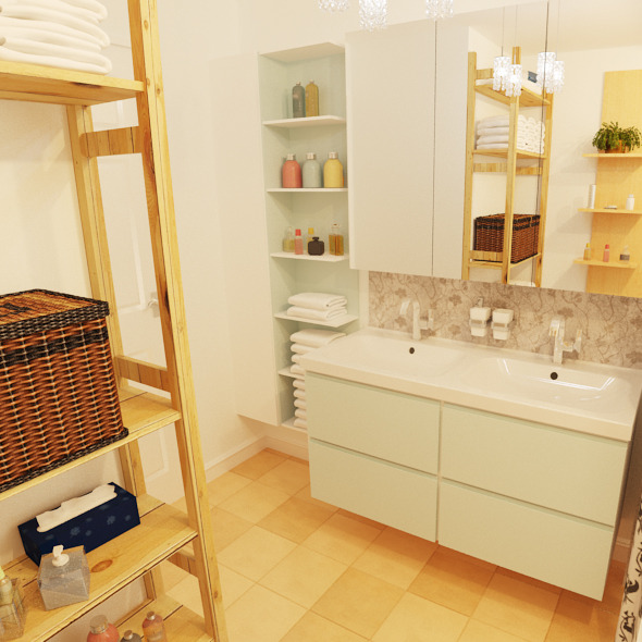 Bathroom remodel - 3DOcean Item for Sale