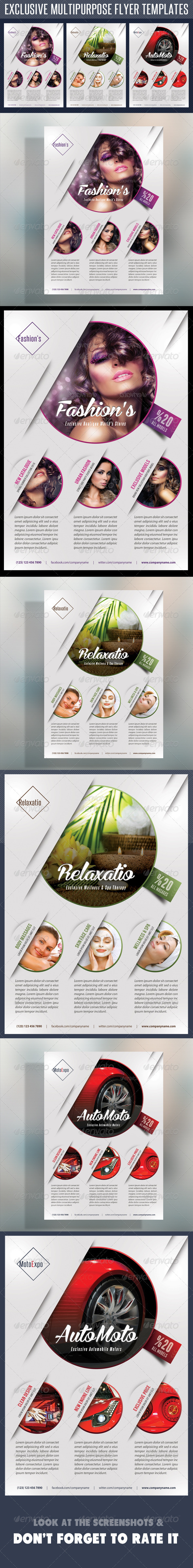 Multipurpose Product Flyer V02 - Commerce Flyers