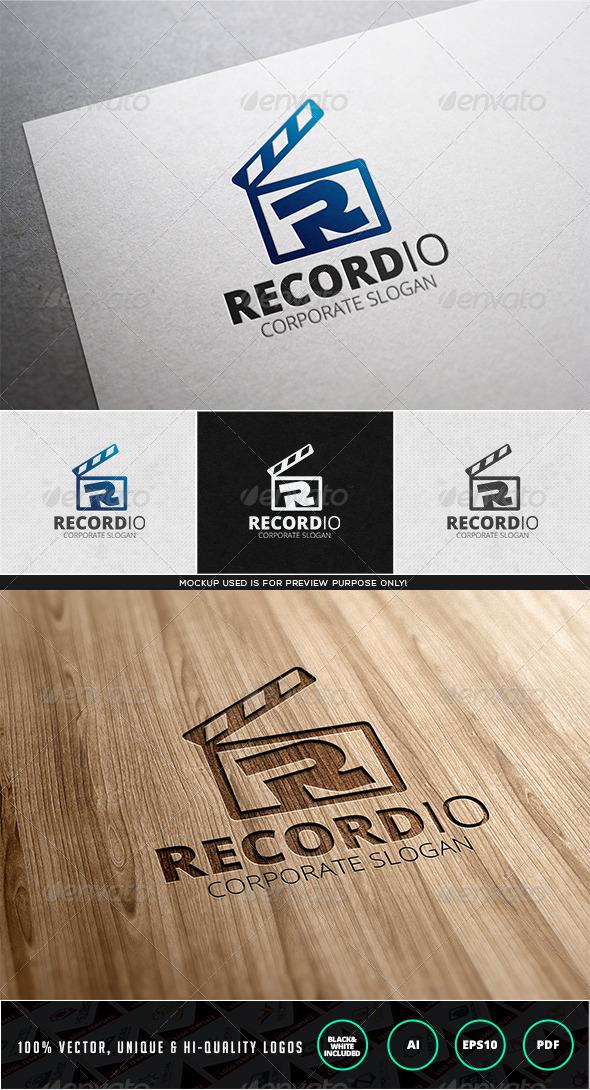 Recordio Logo Template - Letters Logo Templates