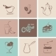 Coffee Symbol Collection - GraphicRiver Item for Sale