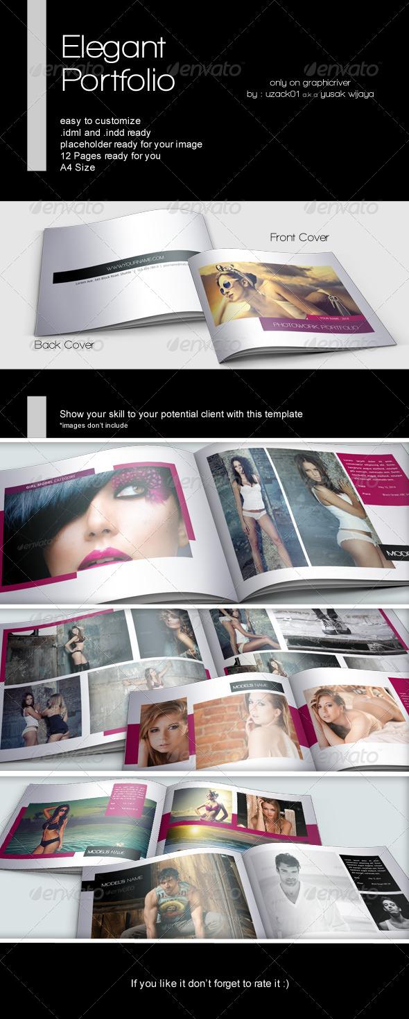 Elegant Portfolio Indesign - Portfolio Brochures