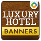 Luxury Hotel Banners - GraphicRiver Item for Sale