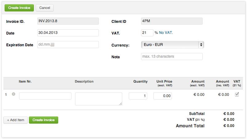 WP PRO Invoicing System by tunafish | CodeCanyon
