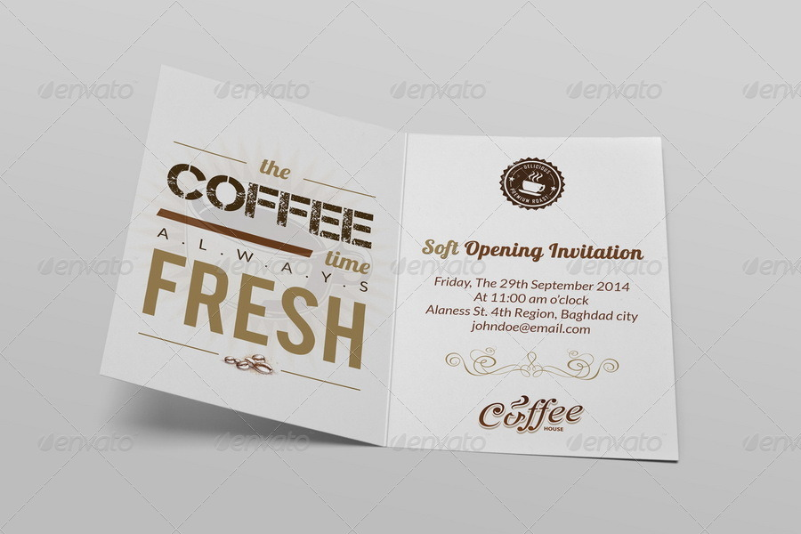 Cafe soft opening invitation card vol3 by owpictures graphicriver cafe soft opening invitation card vol3 stopboris