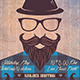 Hipster Party Flyer - GraphicRiver Item for Sale