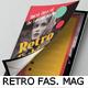 Retro Fashion Magazine Template - GraphicRiver Item for Sale