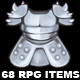 68 HD RPG Items - GraphicRiver Item for Sale