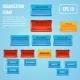 Organizational chart 3d concept - GraphicRiver Item for Sale