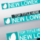 Clean Lower Thirds - VideoHive Item for Sale