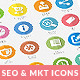 Flat SEO & Marketing Icons Pack 1 - GraphicRiver Item for Sale